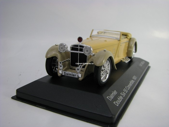 Daimler Six 50 Convertible 1931 Beige 1:43 White Box